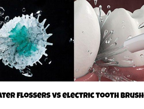 water flosser vs electric toothbrush