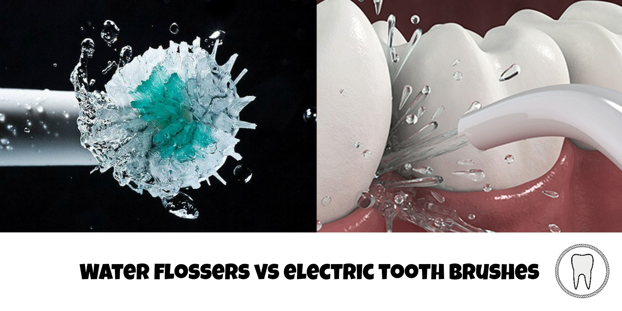 water flosser vs electric toothbrush