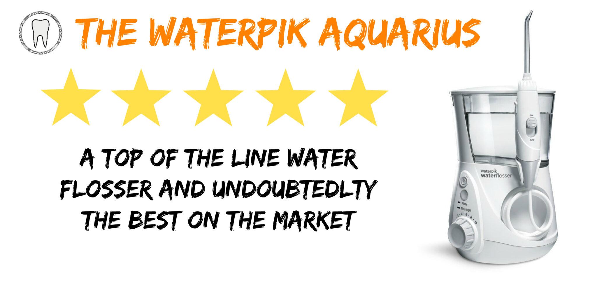 waterpik aquarius review
