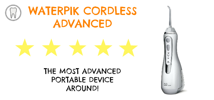 Waterpik Cordless Advanced Review - The Toothsayer